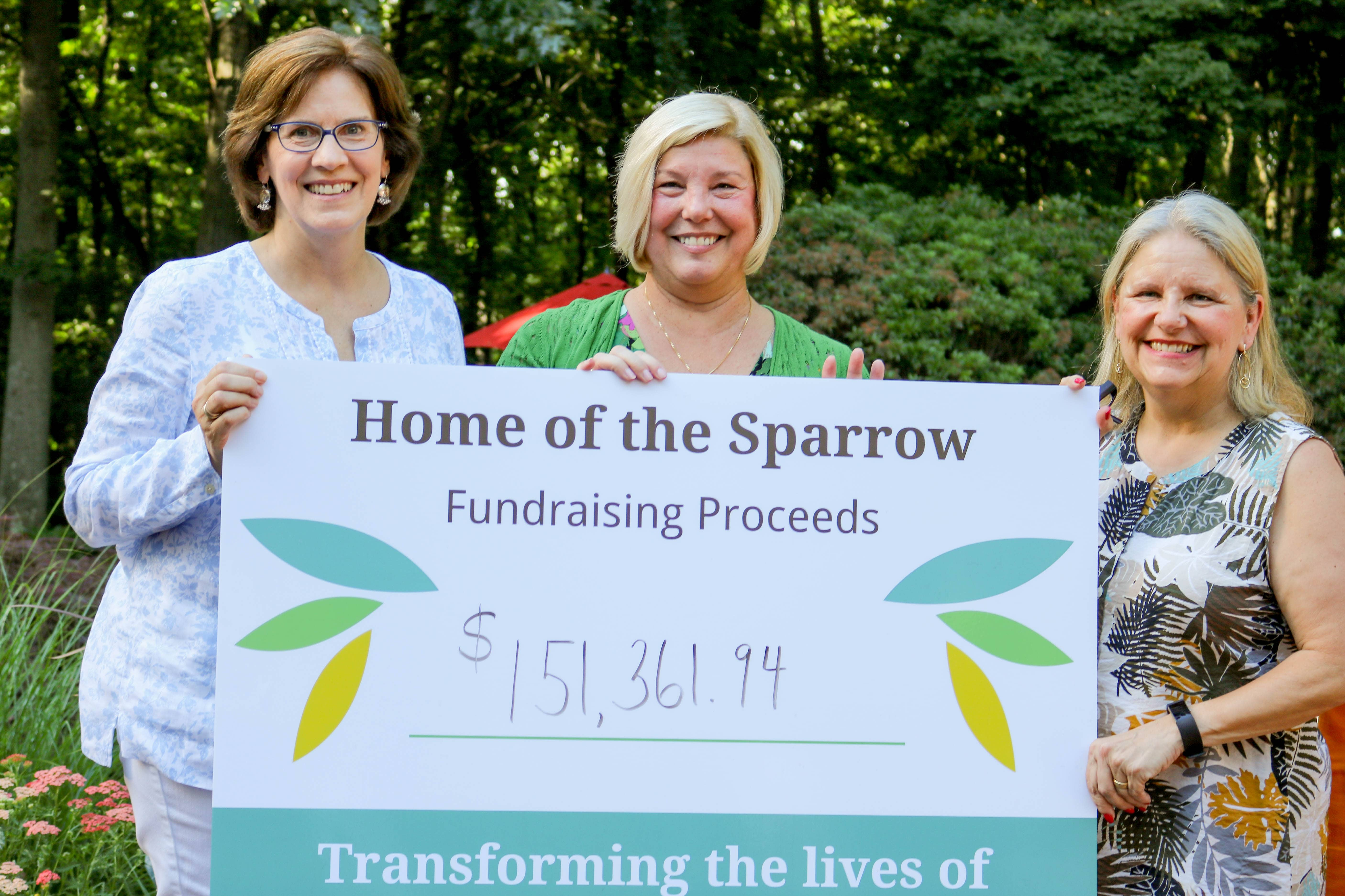 From left to right: Stacy Sempier (Gala Chair), Michelle E. Venema (C.E.O), Darla Nutter (Director of Operations)
