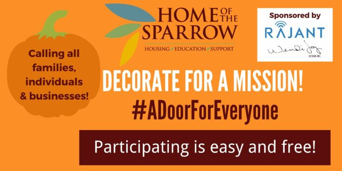 Home Of The Sparrow's Door Decorating Contest: A Door For Everyone