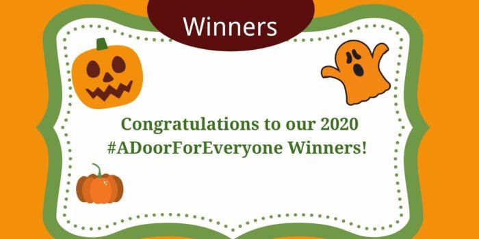 #ADoorForEveryone Winners Announced